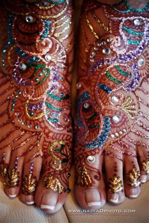 henna tattoo glitter mehndi with glitter on wow we indian wedding