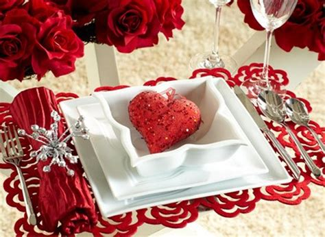 Valentines Day Table | 25 romantic table d 233 cor variants for the best valentine s