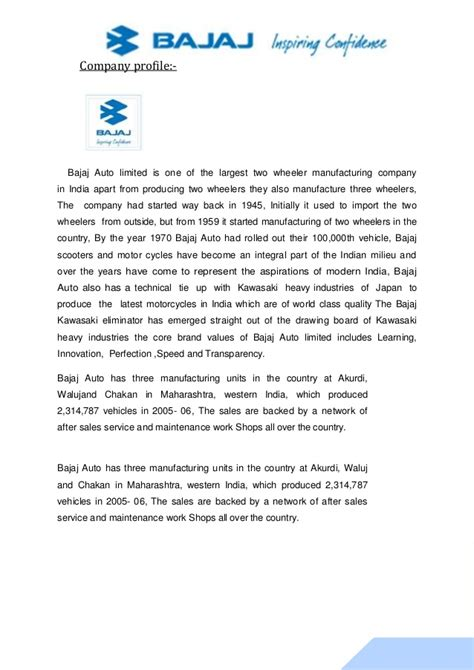 Bajaj Finance Welcome Letter project on bajaj