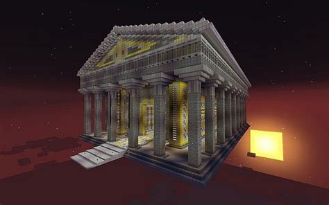 temple of zeus minecraft project