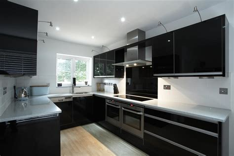 black gloss kitchen ideas 28 black gloss kitchen ideas high gloss kitchen