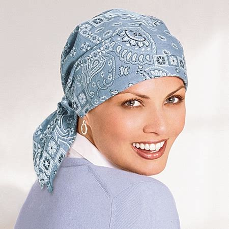 cotton scarves cancer patient scarves chemo