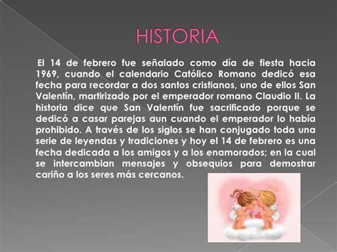historia dia de san valentin dia de san valentin 14 de febrero