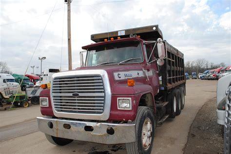 ford dump trucks 1990 ford dump trucks for sale used trucks on buysellsearch