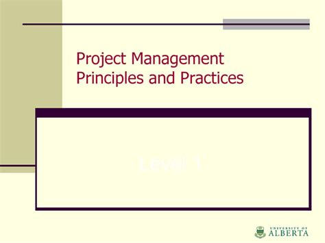 Management Principles And Practices Pdf For Mba by Project Management Ppt Free Premium Templates