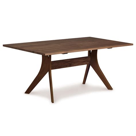 copeland walnut solid top dining table american