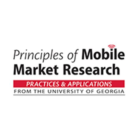 mobile market research mobile market research course at the of