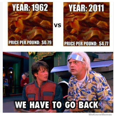 We Have To Go Back Meme - back to the future meme we must