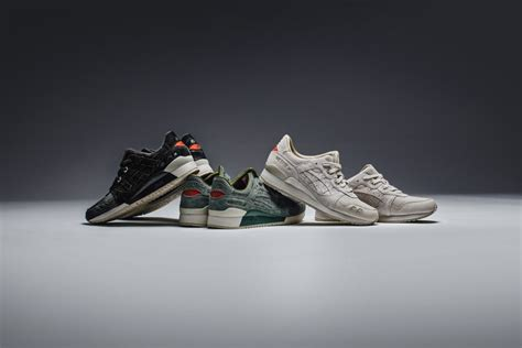 Asics Glyte Iii Perferroated asics gel lyte iii quot perforated pack quot available now feature sneaker boutique