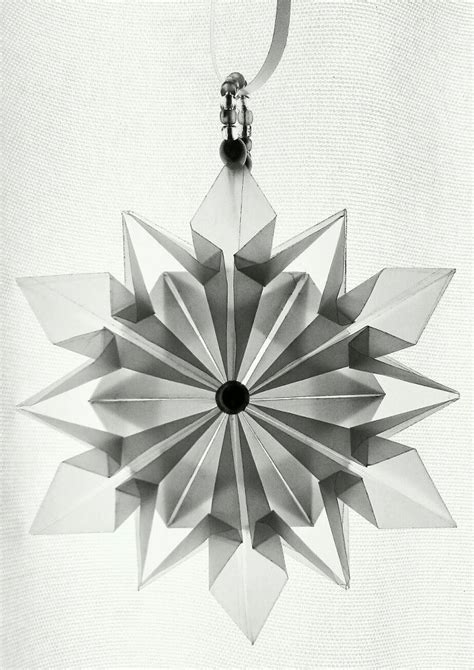 Origami Snowflake Design - 183 best origami images on