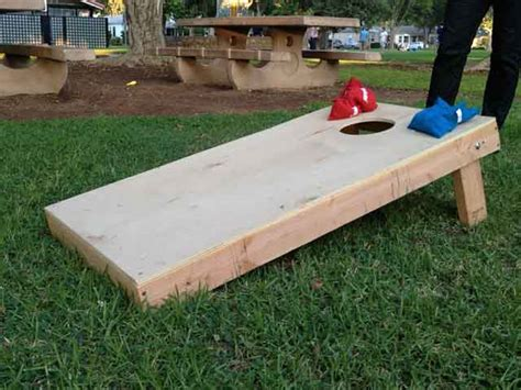 how to build a bean bag how to build a bean bag toss board