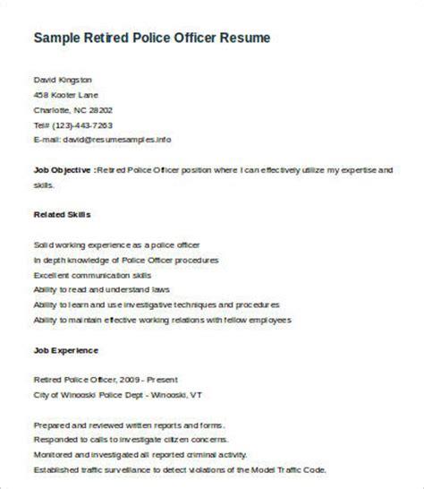 police officer resume job description police officer resume full