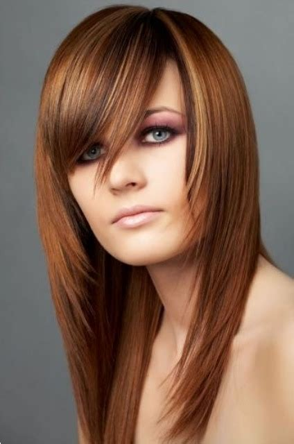 long layers with bangs hairstyles for 2015 for regular people long hairstyles for round faces circletrest