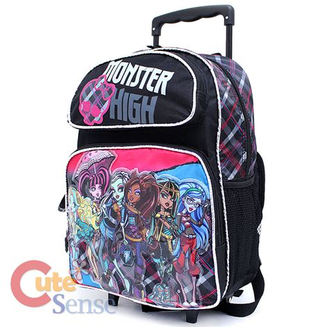 Tas Backpack Rdn 034 high school roller backpack 16 quot large rolling bag
