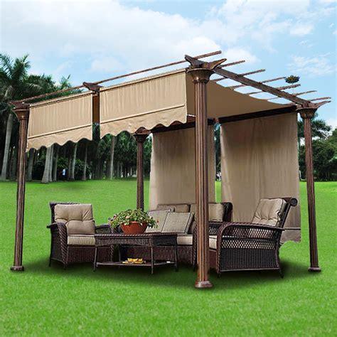 patio tent cover 2pcs patio 15 5x4 pergola canopy replacement cover