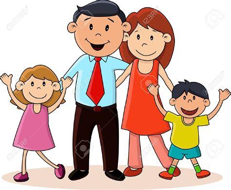 imagenes animadas felices imagenes de familias felices en caricatura bellas