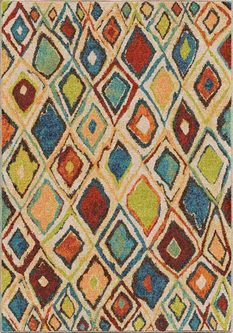 Bright Colorful Area Rugs Orian Rugs Bright Color Scroll Watercolor Scroll Multi Area Rug Reviews Shoppypal
