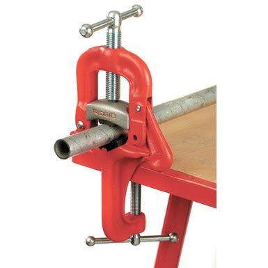 ridgid bench vise portable chain and yoke vises ridgid