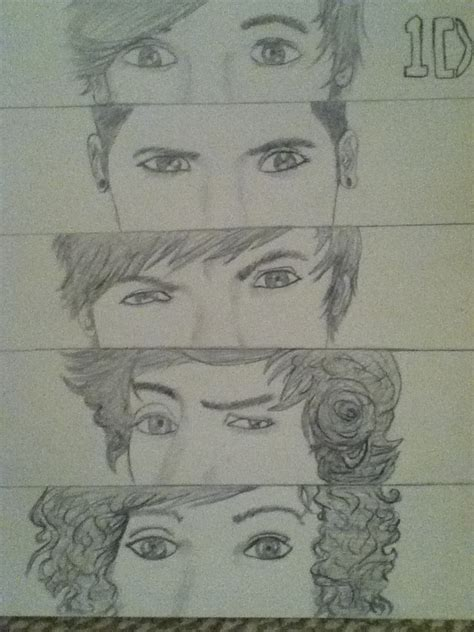 picture drawing one direction picture drawing by artistchan on deviantart