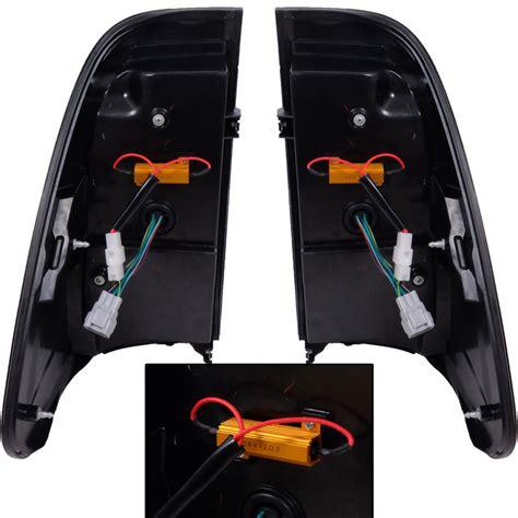 Lu Led Motor Revo 2015 fit for toyota hilux revo sr5 led l lights smoke black lexus style ebay
