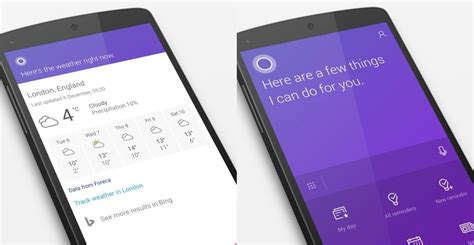 cortana for android cortana for android adds lock screen support with update