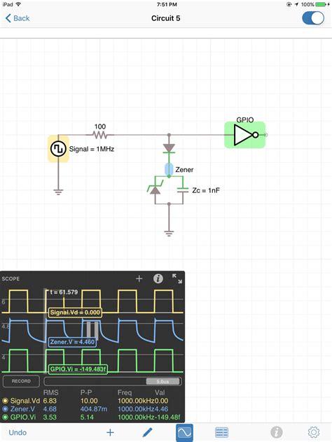 zener diode output waveform eevblog 908 zener diodes page 2
