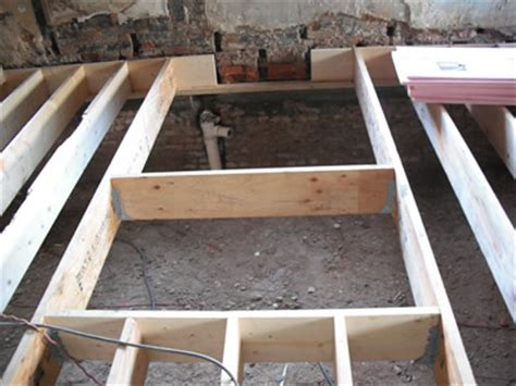 bathroom floor joists washington dc curb less shower renovation contractors