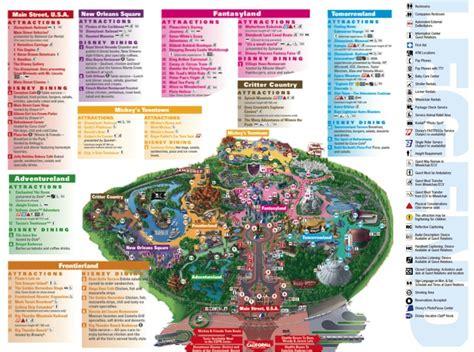 printable maps disneyland disneyland printable park map search results calendar 2015