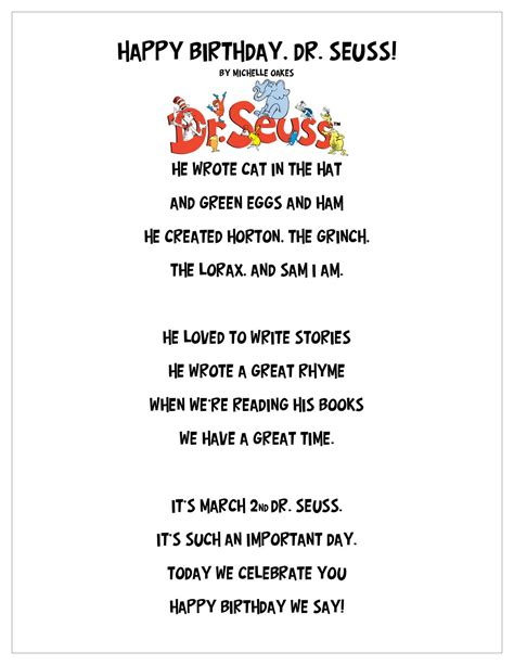 Dr Suess Birthday Quotes Dr Seuss Quotes Poems Quotesgram