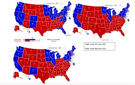 biggest swing states american government 2015 2016 electoral college maps