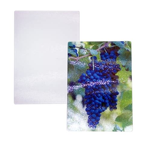 """8"""" x 11"""" Tempered Glass Cutting Board   Sublimation Blank"""