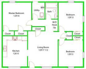 3 Bedroom Floor Plan Court Neighborhood Resourses