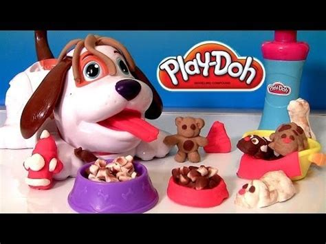 puppies playset play doh puppies playset with kibble kranker by hasbro