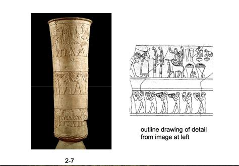 Uruk Vase by Ch 123 Academic Affairs 420 With Barbarar At Maryland