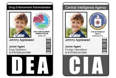 Nsa Id Card Template by Send 1 Fbi Cia Nsa Or Dea Id Badge Photoshop Template