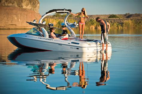 ski boat cruise control centurion elite v c4 wakeboard and water ski with value