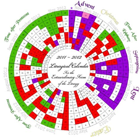 printable liturgical year calendar 17 best images about catholic crafts general on pinterest