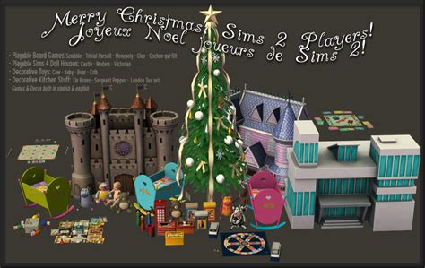 sims objects special christmas