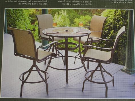 High Table Patio Set High Table Patio Set High Top Modern Outdoor Wicker Dining Set High Top Patio Table And