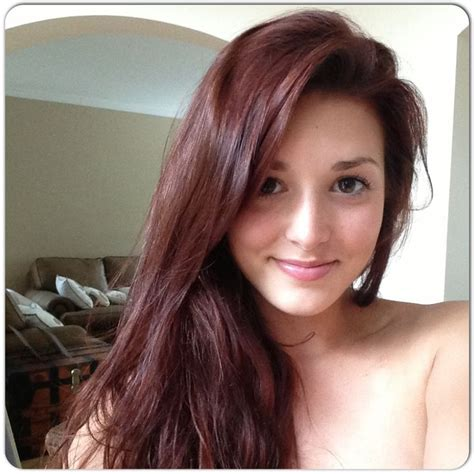 dark brown hair color with red tint brown purple hair color my result of john frieda 4r dark red brown i love it