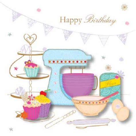 make bake and love happy new home gift idea handmade baking happy birthday greeting card by talking