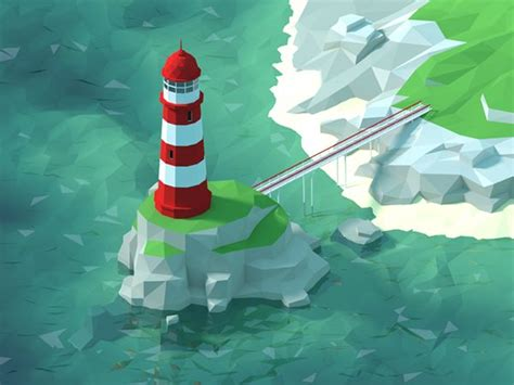 simple voxel floating island blender 3d youtube 17 best images about faceted lowpoly on pinterest