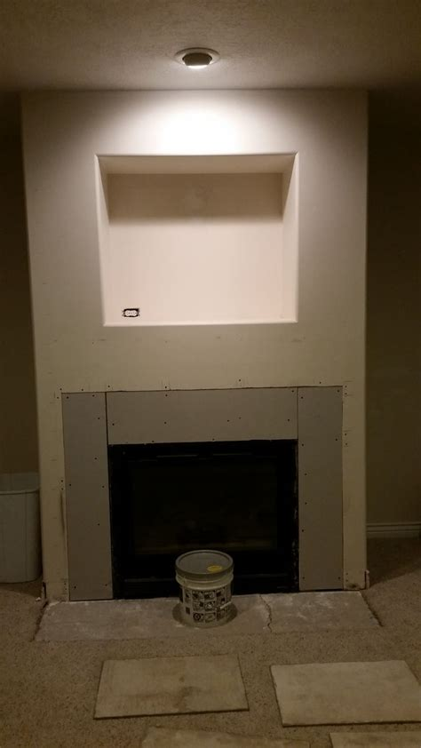 1000 images about basement fireplace makeover diy