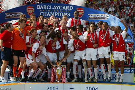 arsenal invincibles squad arsenal winning the premier league this season would be