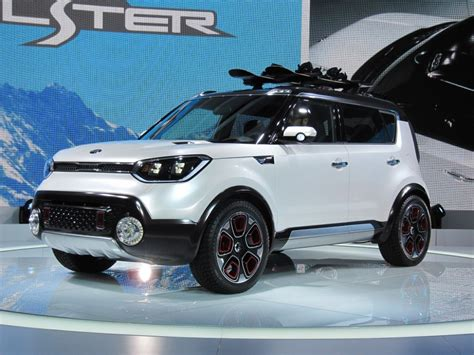Is The Kia Soul Awd Kia Soul Based Trail Ster Concept Features Electric Awd
