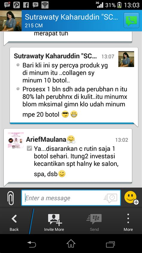 Liquid Collagen K Link testimone k liquid collagen produk k link