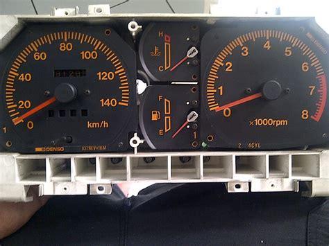 Bohlam Original Suzuki pasang lu led pada spedometer katana my jimny