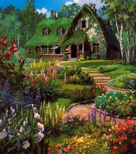 beautiful garden movie studio ghibli scenery studio ghibli pinterest