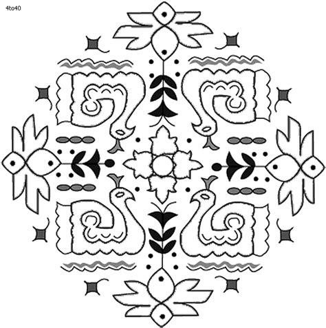 festivals coloring pages pongal kolam coloring page
