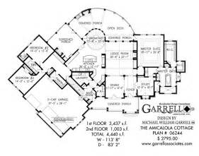 Garrell Floor Plans Amicalola Cottage 4440 House Plan House Plans By Garrell